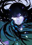 1boy dragon_shiryu jobo_(isi88) long_hair male saint_seiya simple_background solo