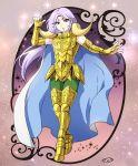 1boy aries_mu armor golden_armor highres male mizuhara_aki posing saint_seiya solo
