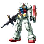 1980s_(style) gun gundam mecha oldschool real_robot rifle rx-78-2 sakusakusakurai science_fiction shield v-fin weapon