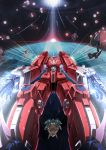 1980s_(style) densetsu_kyojin_ideon earth epic ideon mecha missile oldschool robot sakusakusakurai science_fiction space super_robot