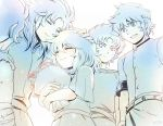 highres mizuhara_aki multiple_boys pisces_aphrodite saint_seiya