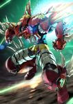 1970s_(style) epic getter_robo highres oldschool sakusakusakurai shin_getter_dragon space super_robot super_robot_wars_t