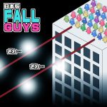 building commentary_request fall_guy fall_guys highres kaiji na!_(na'mr) parody skyscraper solid_oval_eyes standing translation_request