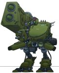 camera english_commentary highres mecha metal_gear_(series) mitchell_hammond no_arms no_humans radio_antenna rocket screen solo standing tx-55_metal_gear white_background