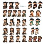 6+girls ahoge akagi_(kantai_collection) bangs black_hair blue_hair blush brown_hair closed_mouth detached_sleeves dual_persona eciujegnaro fusou_(kantai_collection) glasses gloves grey_hair hair_ornament hakama hakama_skirt haruna_(kantai_collection) headband headgear heart hiei_(kantai_collection) high_heels highres hiryuu_(kantai_collection) houshou_(kantai_collection) hyuuga_(kantai_collection) ise_(kantai_collection) japanese_clothes kaga_(kantai_collection) kantai_collection kirishima_(kantai_collection) kongou_(kantai_collection) long_hair multiple_girls mutsu_(kantai_collection) nagato_(kantai_collection) nontraditional_miko ponytail remodel_(kantai_collection) ribbon-trimmed_sleeves ribbon_trim ryuujou_(kantai_collection) sandals short_hair simple_background sitting smile souryuu_(kantai_collection) sparkle twintails twitter_username visor_cap white_background wide_sleeves yamashiro_(kantai_collection)