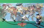 :d :o angry annotated arm_up armor armpits arrow bag bandages bangs belt belt_pouch bike_shorts blonde_hair blue_eyes boots bow_(weapon) clenched_hand cloud coat crop_top etrian_odyssey everyone fantasy feathers fighting_stance fingerless_gloves flat_chest frown game gauntlets glasses gloves goggles goggles_on_head gradient gradient_background greaves gun gunner handgun hat highres himukai_yuuji holding jack_frost jumping knee_boots labcoat letterboxed lineup long_hair medic medic_(sekaiju) midriff multiple_girls official official_art open_mouth outdoors paladin_(sekaiju) payot pink_eyes pink_hair pouch ranger ranger_(sekaiju) satchel scarf sekaiju_no_meikyuu sekaiju_no_meikyuu_2 sheath shield shin_guards short_hair sky sleeves_rolled_up smile spiked_hair spread_legs standing swept_bangs sword swordsman_(sekaiju) tree wallpaper wavy_hair weapon widescreen