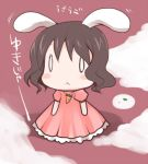 black_hair bunny_ears chibi inaba_tewi lowres rabbit_ears short_hair touhou