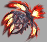 claws dragon highres monster monster_hunter no_humans scales valstrax wings