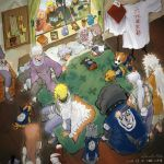 3girls 6+boys ^_^ akino_(naruto) alarm_clock animal arm_around_shoulder bed bisuke_(naruto) black_cloak black_footwear black_gloves black_hair black_jumpsuit black_pants black_shirt black_shorts blanket blonde_hair blue_footwear blue_headband blue_pants blue_shirt book book_stack bouquet bowl_cut brown_hair bull_(naruto) bulletin_board cloak clock closed_eyes coat dated dog facial_scar facing_another flower full_body ghost gift gloves green_jumpsuit green_vest grin guruko_(naruto) hair_over_one_eye haruno_sakura hat hatake_kakashi hatake_sakumo headband highres holding holding_bouquet jacket jiraiya jumpsuit leg_wrap long_coat long_hair long_ponytail looking_at_another lying medium_hair mi_lu_zaosheng might_guy multicolored multicolored_clothes multiple_boys multiple_girls namikaze_minato naruto naruto_(series) naruto_shippuuden nohara_rin on_back on_bed orange_jumpsuit pakkun_(naruto) pants picture_frame pillow pink_hair pink_skirt purple_robe red_coat red_headband red_headwear red_jacket redhead sandals sarutobi_asuma scabbard scar scar_across_eye seiza sheath sheathed shiba_(naruto) shirt short_hair short_sword shorts silver_hair single_glove sitting sitting_on_bed skirt sleeping sleeveless sleeveless_jacket smile sword tantou twitter_username uchiha_obito uchiha_sasuke upper_body urushi_(naruto) uuhei_(naruto) uzumaki_kushina uzumaki_naruto vest weapon white_coat white_hair yamato_(naruto)