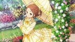 22/7 blush brown_eyes brown_hair dress kono_miyako short_hair smile