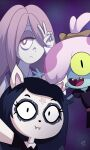 absurdres amphibia claire_d'lune disney highres little_witch_academia maddie_flour sucy_manbavaran the_summoning