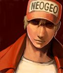 baseball_cap blonde_hair fatal_fury hat king_of_fighters male solo terry_bogard yu_65026