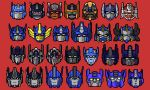 absurdres art_likes_robots autobot beast_machines beast_wars blue_eyes bumblebee_(film) english_commentary fire_convoy frown head_only highres mecha multiple_persona no_humans optimal_optimus optimus_primal optimus_prime pixel_art red_background red_eyes the_transformers_(idw) transformers transformers:_age_of_extinction transformers:_dark_of_the_moon transformers:_fall_of_cybertron transformers:_rescue_bots transformers:_rescue_bots_academy transformers:_revenge_of_the_fallen transformers:_robots_in_disguise_(2015) transformers:_the_last_knight transformers:_war_for_cybertron transformers_(live_action) transformers_animated transformers_armada transformers_car_robots transformers_cybertron transformers_energon transformers_prime yellow_eyes