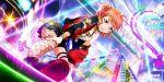dress jacket love_live!_school_idol_festival_all_stars orange_hair red_eyes short_hair smile takami_chika