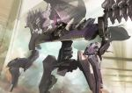armored_core armored_core:_for_answer dual_wielding flag gem gun holding hukutuuprunes looking_ahead mecha no_humans one-eyed science_fiction solo weapon x-sobrero_next