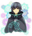 black_hair brown_eyes koucha male oversized_clothes short_hair smile yoshitomo_(koucha)