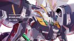 artist_name azzalea byalant_custom character_name close-up english_commentary gundam gundam_unicorn highres looking_down mecha no_humans science_fiction solo visor watermark
