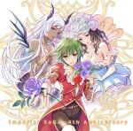 asellus_(saga_frontier) green_hair multiple_girls saga saga_frontier