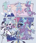 !! ? closed_eyes gallade gardevoir gen_3_pokemon gen_4_pokemon gen_7_pokemon gen_8_pokemon glasses hatterene holding holding_instrument instrument microphone music musical_note obstagoon open_mouth piano playing_instrument pokemon pokemon_(creature) primarina sitting stool sunglasses sweat tongue toxtricity violin white-framed_eyewear yurano_(upao)