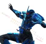 1boy armor artist_name belt black_bodysuit bodysuit cluseller commentary_request helmet kamen_rider kamen_rider_build kamen_rider_build_(series) male_focus power_armor red_eyes rider_belt sample shiny shiny_clothes simple_background solo spread_legs standing translation_request utility_belt watermark white_background