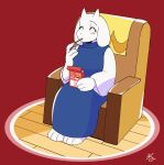1boy 1girl animal_ears animated armchair blush chair fang food full-face_blush goat_ears goat_horns highres hood hoodie horns kiss laughing neruco pocky pocky_kiss sans simple_background sitting smile teleport toriel undertale