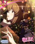 brown_eyes brown_hair character_name dress hagiwara_yukiho idolmaster_million_live!_theater_days short_hair