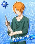 character_name dress idolmaster idolmaster_side-m orange_hair red_eyes short_hair tsukumo_kazuki