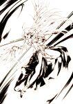 1girl angel_wings aselia_bluespirit boots eien_no_aselia eternity_sword_series gauntlets gloves highres hitomaru holding holding_sword holding_weapon scabbard sheath sword weapon wings