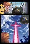 commentary fujitaka_nasu highres kono_subarashii_sekai_ni_shukufuku_wo! matariel neon_genesis_evangelion parody souryuu_asuka_langley