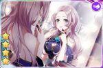 blush d4dj dress grey_hair long_hair violet_eyes yano_hiiro