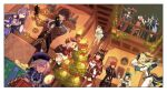 +_+ 4boys 6+girls absurdres ahoge amber_(genshin_impact) androgynous asymmetrical_legwear aura backpack bag bangs baron_bunny bead_necklace beads beidou_(genshin_impact) black_coat black_hair blonde_hair blush boots box braid breasts cape capelet chain chinese_clothes choker christmas christmas_ornaments christmas_tree coat coin_hair_ornament cup diluc_(genshin_impact) dress drinking_glass earrings eyepatch floating flower full_body fur_trim genshin_impact gift gift_box gloves glowing green_headwear hair_between_eyes hair_over_one_eye hair_ribbon halo hat hat_feather hat_ornament high_heel_boots high_heels highres holding holding_cup holding_instrument indoors instrument jean_gunnhildr jewelry kaeya_(genshin_impact) keqing klee_(genshin_impact) knee_boots large_breasts lemontansan leotard long_hair long_sleeves low_twintails mona_(genshin_impact) multiple_boys multiple_girls necklace open_mouth painting_(object) pantyhose pelvic_curtain pointy_ears purple_hair qing_guanmao qiqi railing red_capelet red_dress red_eyes red_headwear red_ribbon redhead ribbon short_hair shoulder_guard sleeves_past_wrists smile talisman tassel thigh-highs thigh_boots twin_braids twintails venti_(genshin_impact) violet_eyes vision_(genshin_impact) white_dress white_feathers white_flower white_hair white_legwear wide_sleeves window wine_glass yellow_eyes zhongli_(genshin_impact)