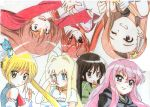 6+girls aisaka_taiga colored_pencil_(medium) dragon_crisis! fairy_tail graphite_(medium) happy_(fairy_tail) hayate_no_gotoku! hidan_no_aria idolmaster jinjin-roririn kanzaki_h_aria kugimiya_rie louise_francoise_le_blanc_de_la_valliere minase_iori multiple_girls rose_(dragon_crisis!) sanzen'in_nagi seiyuu_connection shakugan_no_shana shana toradora! traditional_media zero_no_tsukaima