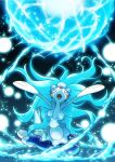 artist_name commentary_request enishi_(menkura-rin10) fang gen_7_pokemon head_back highres no_humans open_mouth pokemon pokemon_(creature) primarina skin_fang solo tongue water watermark