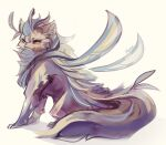 commentary creature english_commentary faerie_neopet fairy_wings full_body looking_at_viewer neopets no_humans signature simple_background white_background wings xweetok yellow_eyes yhemo
