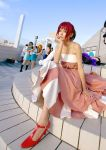 cosplay evening_gown hino_kahoko kiniro_no_corda kouzuki_suzuka photo redhead