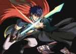 1boy 1girl angry armor byleth_(fire_emblem) byleth_eisner_(female) fire_emblem fire_emblem:_path_of_radiance fire_emblem:_three_houses headband ike_(fire_emblem) long_hair ragnell short_hair super_smash_bros. sword sword_of_the_creator tina_fate weapon