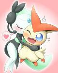 gen_5_pokemon highres meloetta meloetta_(aria) mythical_pokemon pokemon victini
