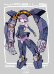 1girl bangs blunt_bangs blunt_ends boots breasts dated elbow_gloves eyebrows_visible_through_hair flat_(mobile_suit) floating gloves grey_gloves grey_hair gundam highres leotard mecha_musume michi_kuso open_hands personification red_eyes short_hair small_breasts thigh-highs thigh_boots turn_a_gundam v-shaped_eyebrows