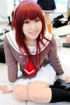 cosplay hino_kahoko kiniro_no_corda moeka photo redhead school_uniform