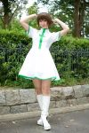 boots cosplay hirano_kurita kurukuru_lab kurusu_nazuki nurse nurse_uniform photo