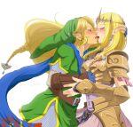 <3 coupal cute hug kiss link love princess_zelda sweet zelink