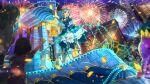 blue_hair blush castle dress idolmaster_million_live!_theater_days red_eyes short_hair tokugawa_matsuri