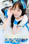 apron cosplay hair_bow suzumiya_kirika tagme_character tagme_series
