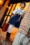 acasius_boarding_school boots cosplay hair_bow heidi's_village kipi-san photo thigh-highs