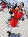 boots colonel_une cosplay glasses gundam gundam_wing lady_une military_uniform tagme_model