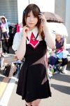 air cosplay hair_ribbons katou_mari kneehighs photo school_uniform tohno_minagi