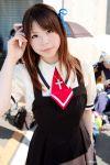 air cosplay hair_ribbons katou_mari photo school_uniform tohno_minagi