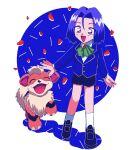 1boy child gen_1_pokemon growlithe highres james_(pokemon) lr_cu3 pokemon pokemon_(anime) pokemon_(creature) team_rocket