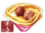 baskin-robbins dessert food food_focus highres ice_cream kaneko_ryou no_humans original pastry realistic simple_background still_life translation_request waffle white_background