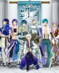 6+boys abs alternate_color angel_wings armor armored_boots axe bangs banner bare_pecs belt black_belt black_coat black_footwear black_gloves black_pants black_sclera black_shirt black_wings blue_cape blue_capelet blue_eyes blue_hair blue_jacket blue_pants boots breastplate brown_belt brown_footwear brown_pants cape capelet chainmail chair closed_mouth coat colored_sclera column commentary_request crop_top cross cross_necklace crossed_arms dagger emblem eyebrows_visible_through_hair eyepatch fingerless_gloves full_body fur-trimmed_cape fur-trimmed_capelet fur-trimmed_jacket fur-trimmed_pants fur_trim gauntlets glasses gloves grey_hair hair_between_eyes hairband head_tilt high_collar high_priest_(ragnarok_online) high_wizard_(ragnarok_online) holding holding_axe holding_dagger holding_instrument holding_staff holding_sword holding_weapon ice_pick instrument jacket jewelry layered_clothing leg_armor long_sleeves looking_at_viewer lord_knight_(ragnarok_online) medium_hair minstrel_(ragnarok_online) mismatched_sclera multiple_boys necklace open_clothes open_jacket open_mouth open_shirt paladin_(ragnarok_online) pantaloons pants pauldrons pillar pointy_ears pouch purple_hair purple_vest ragnarok_online retgra scabbard scar scar_on_face sheath shirt shoes short_hair short_sleeves shoulder_armor single_wing sitting sleeveless sleeveless_shirt smile spiked_gauntlets staff stalker_(ragnarok_online) standing stomach_tattoo suspenders sword tabard tattoo torn_clothes torn_shirt vest violet_eyes violin waist_cape weapon white_coat white_footwear white_gloves white_hair white_pants white_shirt whitesmith_(ragnarok_online) wings